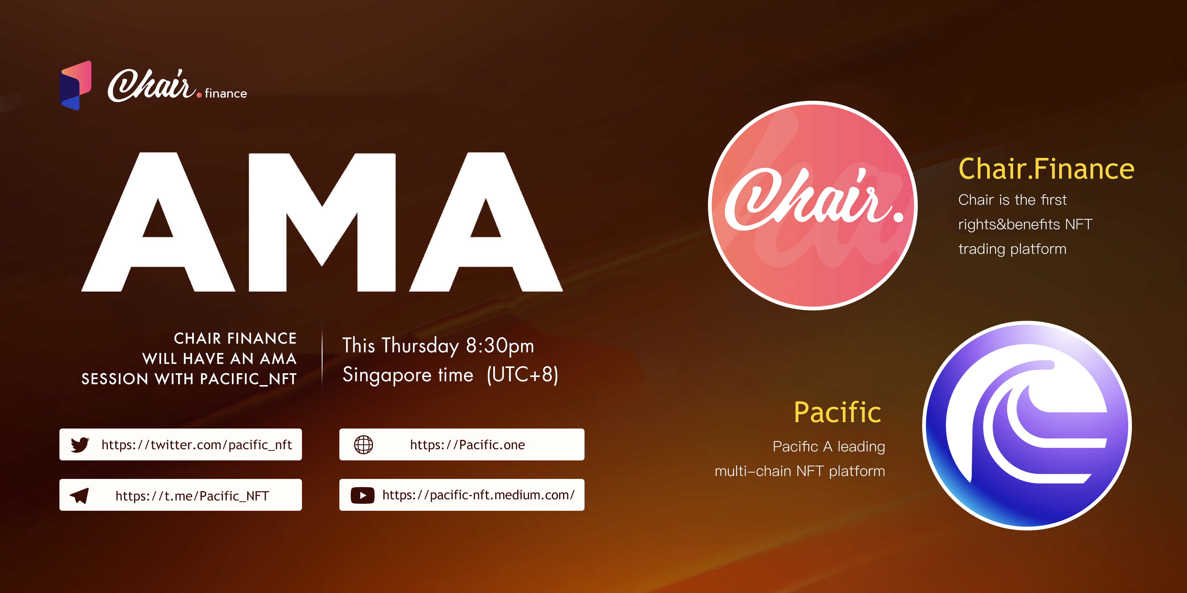 Chair and Pacific AMA
